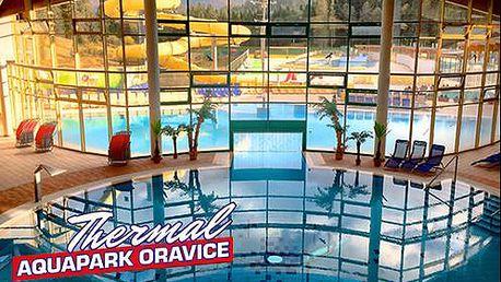 Celodenní vstup do Aquathermalparku v Oravicích