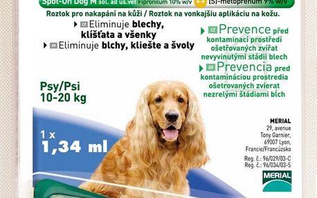 Frontline Combo spot-on dog M (10-20 kg)