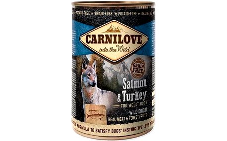 Brit Carnilove Wild Meat Salmon & Turkey 400 g