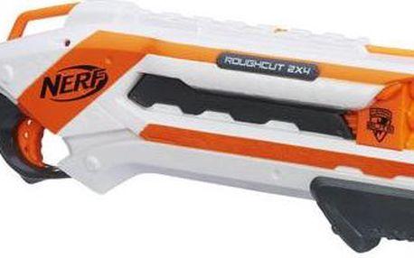 Nerf ELITE Pistole střílí 2 šipky najednou Rough Cut