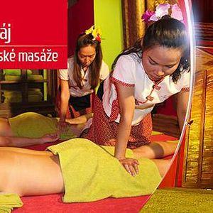 Pravá thajská masáž a rybky Garra Rufa! Na výběr různé procedury, Thajský ráj - Praha 1