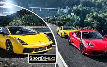 Rychlá jízda ve Ferrari F430 či v Lamborghini Gallardo: až 60 minut jízdy v Olomouci