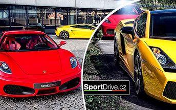 Rychlá jízda ve Ferrari F430 či v Lamborghini Gallardo: až 60 minut jízdy v Brně