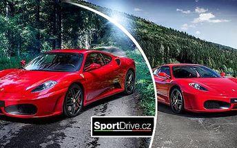 Rychlá jízda ve Ferrari F430 či v Lamborghini Gallardo: až 60 minut jízdy v Ostravě