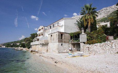 Chorvatsko - Apartmány Andromeda - Makarská Riviéra / bez stravy, vlastní doprava, 9 nocí, 4 osoby