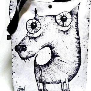 Taška se psem Gaul 42x32 cm, Gaul designs