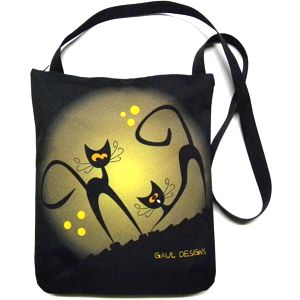 Taška se zipem Gaul s kočkou 102 33x28 cm, Gaul designs