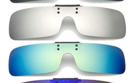 Polarizační klip na dioptrické brýle