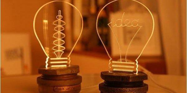 Designové noční světýlko