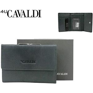 Dámská peněženka z pravé kůže CAVALDI Gray