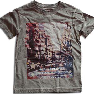 Minoti Chlapecké tričko JERSEY 7- šedé, 104 cm