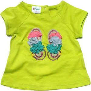 Gelati Dívčí tričko - světle zelené, 68 cm
