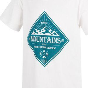 Hannah Chlapecké tričko Duckie JR - bílé, 140 cm