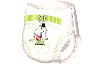 Muumi Baby dětské jednorázové pleny Walkers 36 ks Junior 12-20 kg
