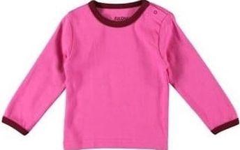 Fixoni Dívčí růžové tričko, 68 cm
