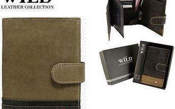 Pánská peněženka z pravé kůže N4L-R