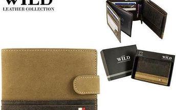 Pánská peněženka z pravé kůže N992L-R