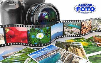 Vytištění 100 ks fotografií a album dle výběru