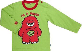 MMDadak Dětské tričko s příšerkou, 74