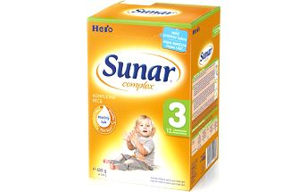 Sunar kojenecké mléko Complex 3, 6x600g