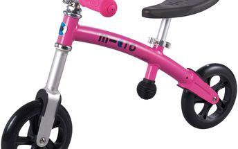 Micro Odrážedlo G-Bike+ Light Pink