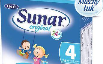 Sunar kojenecké mléko Original 4, 6x500g