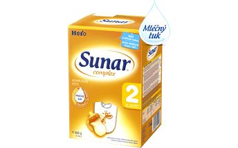 Sunar kojenecké mléko Complex 2, 6x600g