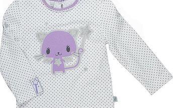 MMDadak Dívčí tričko s kočičkou, 62