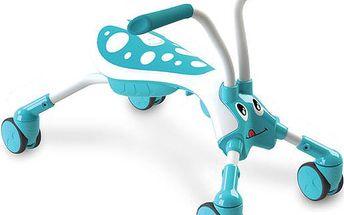 Mookie Scramble Bug odrážedlo čtyřkolka - brouček modrý