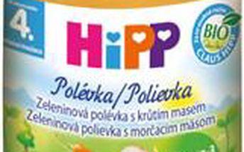 HiPP BIO Zeleninová polévka s krůtím masem 6x190g