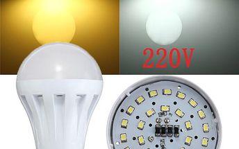 3W LED žárovka s 27 diodami - patice E27