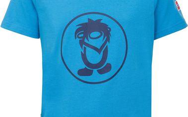 Trollkids Dětské funkční tričko Troll - modré, 92 cm