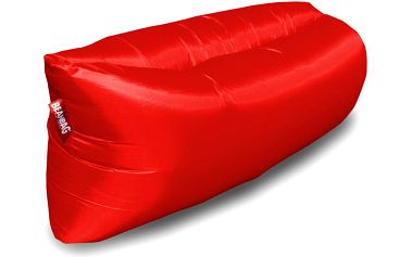 BeanBag Nafukovací inflatable sedací vak red
