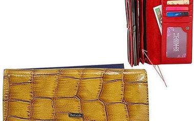 Dámská peněženka z pravé kůže 4uCAVALDI Camel