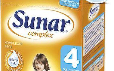Sunar kojenecké mléko Complex 4, 6x600 g
