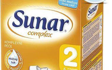 Sunar kojenecké mléko Complex 2, 600 g