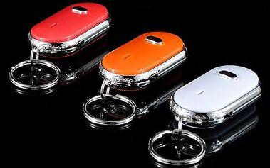 Vyhledávač klíčů se zvukem a červeným světlem
