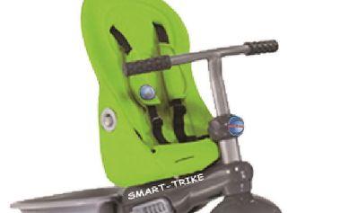 Smart Trike Recliner Stroller tříkolka 4v1 - zelená