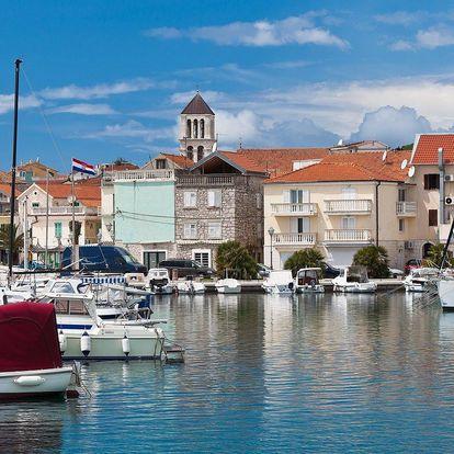 Pohoda na 7 nocí s polopenzí u moře v Chorvatsku