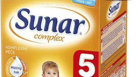 Sunar kojenecké mléko Complex 5, 600 g