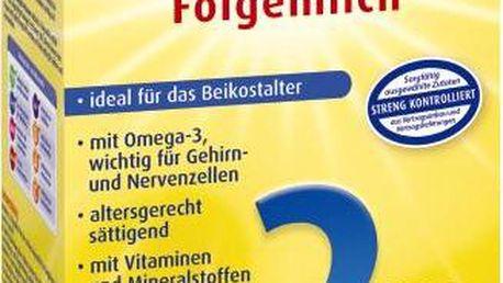 Bebivita Mléko 2 Instantní pokračovací mléčná kojenecká výživa od uk. 6. měsíce - NOVINKA 4x500g