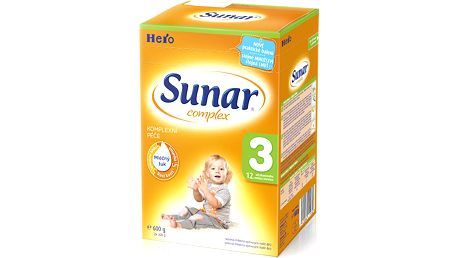 Sunar kojenecké mléko Complex 3, 600 g