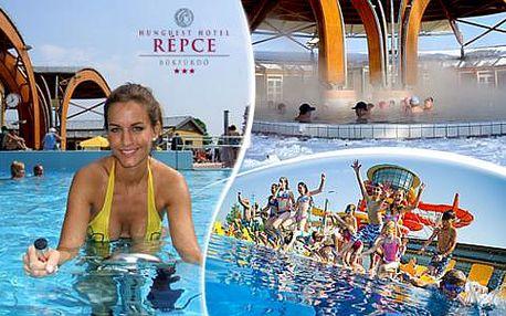 Luxusní Hotel Répce*** s neomezeným wellness a polopenzí v maďarských lázních Bükfürdő za nejnižší ceny!