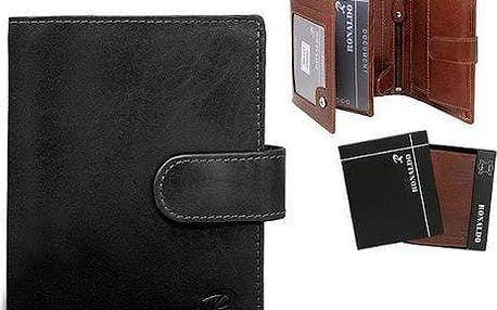 Pánská peněženka z pravé kůže N4L-VIT černá