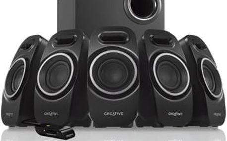 CREATIVE Speaker Inspire A550, 5.1