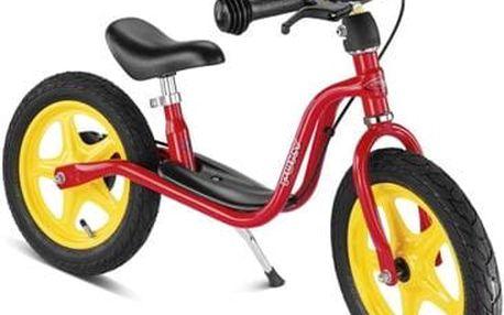 PUKY Learner Bike LR 1 BR s brzdou červená