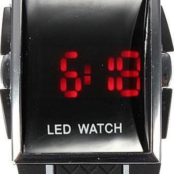 Unisex náramkové LED hodinky - 3 barvy