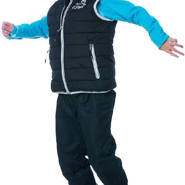 O'Style Dětské sportovní kalhoty s podšívkou - černé, 92 cm3