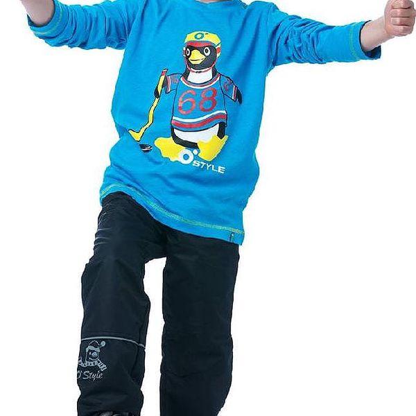 O'Style Dětské sportovní kalhoty s podšívkou - černé, 92 cm4