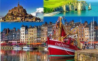 Paříž - Normandie - Bretaň, Francie, Poznávací zájezdy - Francie, 6 dní, Autobus, Bez stravy, Alespoň 1 ★, sleva 14 %